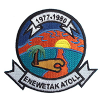 Enewetak Atoll Veterans Patch
